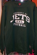NEW PROPERTY OF NEW YORK JETS  SWEATSHIRT  SHIRT M