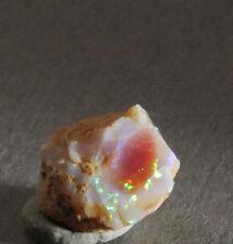Feuer Opal Rohstein A Qual. opalisierend 4,55ct aus Mexiko (12162) fire opal
