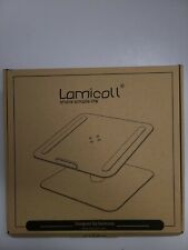 Laptop Notebook Stand, Lamicall Laptop Riser. 360 Rotating
