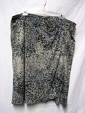 JACLYN SMITH Slim & smooth mockwrap skirt XXL18/20 Waist 40-42 liquid fabric