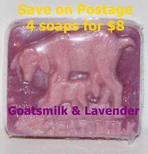 Goat's Milk Lavender Scent Regular Size Bar Soaps