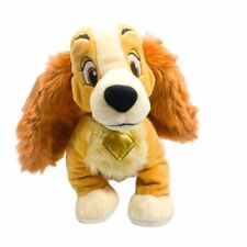 """Disney Store Lady And The Tramp Plush 12"""" Lady Dog Authentic Stuffed Animal Toy"""