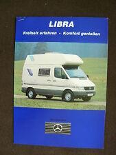 Mercedes-Benz Wohnmobil - LIBRA K30 - Prospekt + Preisliste Brochure 06.1996