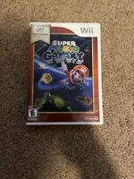 Super Mario Galaxy - Nintendo Wii (2007) Nintendo Selects - Complete Case Manual