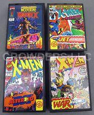 X-Men Jet Hangar War Room Weapon X Lab Asteroid 'M' Pocket Comics Toy Biz Marvel
