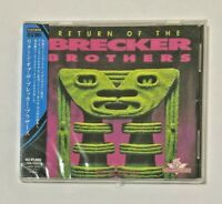 """Brecker Brothers SEALED BRAND NEW CD """"Return Of The Brecker Brothers"""" Japan OBI"""