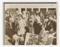 ORIG 1968 Press Photo Miss America Protest by National Women's Liberation Group