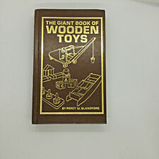 The Giant Book of WOODEN TOYS Percy W Blandford First Edition 1st Printing 1982