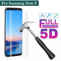 For Samsung Galaxy Note 9 8 S8/S9+ 5D Tempered Glass Full Cover Screen Protector
