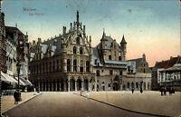 1. Weltkrieg World War I. Feldpostkarte Malines 1916 Feldpost Stempel Westfront