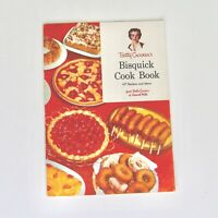 Betty Crocker Bisquick Cook Book Booklet Baking 1956 157 Recipes Ideas VTG