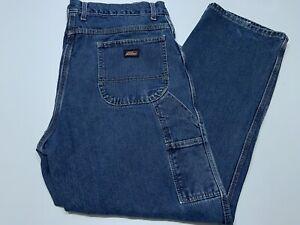 Mens Dickies Blue Jean Carpenter Pants Denim Size 40x31