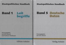STAATSPOLITISCHES HANDBUCH - Teile 1-5 - Erik Lehnert & Karlheinz Weißmann - NEU