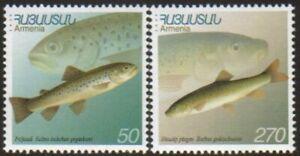 Armenia 176-7  Domestic Armenian Fish Scott #606-7