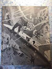 FANZINES CHEAP-FLASHBACK #1 1971 Dynapubs Wally Wood