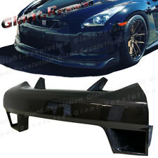 For 08-11 GTR R35 CBA Model Carbon Fiber WR Look Front Bumper Grille Vent Cover