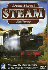 DEAN FOREST STEAM RAILWAY DVD - DISCOVER THE STORY OF STEAM ON THE DEAN FOREST