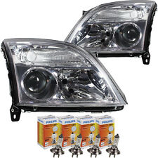 Headlight Set Opel Vectra C 04.02-08.05 H7/H7 without Motor with Indicator Cut