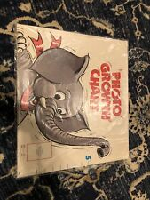 New Sealed Vintage Photo Growth Chart Baby Nursery Decor Wall Hanging elephant