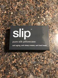 Slip Pure Silk Pillowcase -Queen/Standard- Charcoal Grey