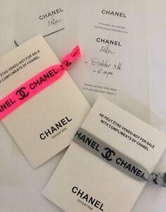Fashion Show Ritz Hotel Chanel Armband Einladung Invitation VIP Event bracelet