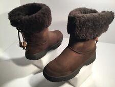 Women's UGG Australia Boots Size 6M  Sheepskin Brown
