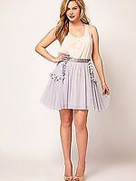 NEW LADIES GIRLS EX ASOS FLOWER POCKET FLIPPY SKATER PARTY SKIRT SZ 6-18