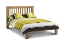 Amsterdam Low FootEnd Solid Oak Bed Frame In Double Kingsize OR Super King