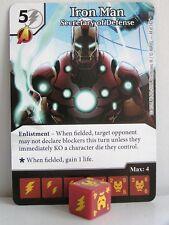 Marvel Dice Masters - 2x #044 Iron Man secretary of Defense-Civil était