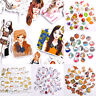 3D Adhesive Stickers Cartoon Korean Decorative Kawaii Stickers DIY Cartoon Gift