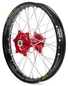 Front Wheel 1.40x19 Red/Black Talon/EXCEL for Honda CRF150RB 2007-2015