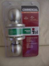 Commercial Stainless Ball Knob Heavy Duty Tell Mfg.  3 Hour Fire Rated - Passage