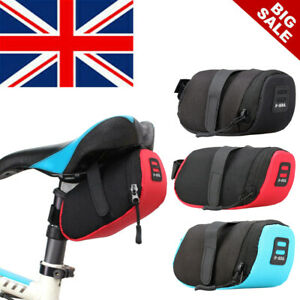 MTB Mountain Bike Bag Pouch Road Bicycle Cycling Seat Saddle Bag Accessories UK