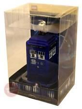 "Doctor Who - TARDIS 4.25"" Glass Christmas Ornament NEW dr who xmas decoration"