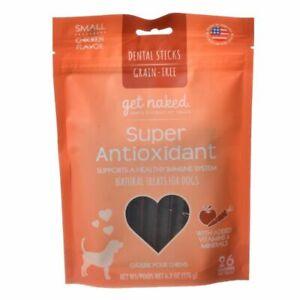 LM Get Naked Super Antioxidant Dental Chews Small (6.2 oz)