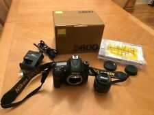 Nikon D600 Digital SLR Camera Body w/ 50mm NIKKOR lens (LOW shutter count)