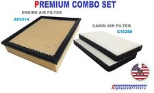 PREMIUM COMBO AIR FILTER + CABIN FILTER For ESCALADE YUKON SILVERADO SIERRA