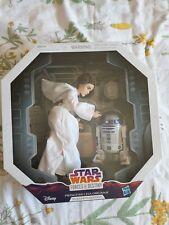 Disney Hasbro Star Wars Forces du destin Princesse Leia Figure, édition platinum