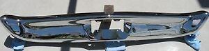 X FORD GALAXIE 500 XL LTD NEW TRIPLE PLATED CHROME FRONT BUMPER 1968 68 OEM