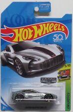 Hot Wheels 2018 Aston Martin One-77 Zamac