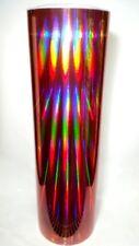 Pink Rainbow Oil Slick Sign Plotter Vinyl Film