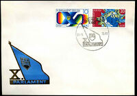 East Germany 1976, 10th Youth Parliament Conference FDC First Day Cover #C35761