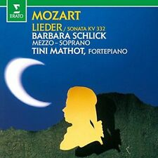 BARBARA SCHLICK-MOZART: LIEDER-JAPAN CD C68