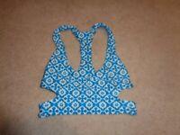 Tori Praver Seafoam Bikini Top Size XS
