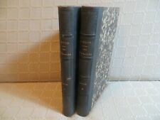 les misérables Fantine I & II Victor Hugo édition originale française 1862