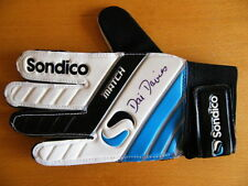 Certified: Obtained Personally D Signed Football Gloves