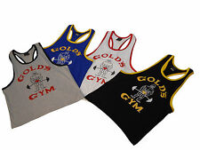 "Gold's Gym ""Old Joe"" Ringer Tank Top- #RT-2- New"