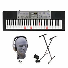 NEW Premium Full 61 Key Electric Piano w Light Up Keys Stand Headphones Included