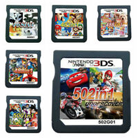 500/502 in 1 Video Games Cartridge Cards For Nintendo NDS 2DS 3DS NDSI NDSL US