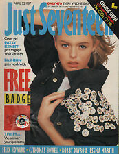 Just Seventeen Magazine 22 April 1987   Patsy Kensit    C Thomas Howell